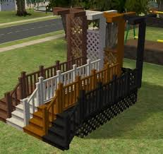 mod the sims silversong porch build set updated placement info