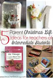 5 diy and inexpensive parent christmas gift ideas for teachers of