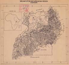 Map Of Uganda Africa by The Soil Maps Of Africa Display Maps
