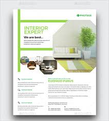 Interior Design Flyer Template  Free PSD AI Vector EPS - Home decoration services