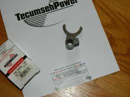 tecumseh peerless 2300 series transmission shift fork nla
