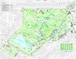 Brooklyn Ny Map Prospect Park Maplets