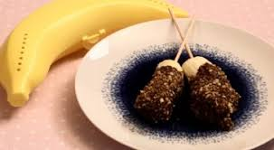 pralin de cuisine brochette banane chocolat recette rapide gourmand