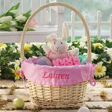 personalized easter basket liners easter gift ideas eatwell101