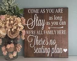 rustic wedding sayings wood wedding signs etsy