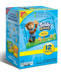 teddy gram delivery teddy graham crackers honey 1 ounce bags 12 count