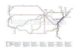 amtrak map usa unofficial map amtrak passenger rail routes transit maps
