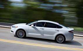 2013 ford fusion spoiler 2013 ford fusion drive automobile magazine