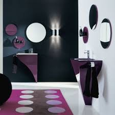 bathroom lovely modern purple ideas for small bathroom matched