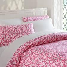 damask duvet cover full queen deep pink pbteen polyvore
