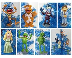 the muppets set of 7 tree ornaments