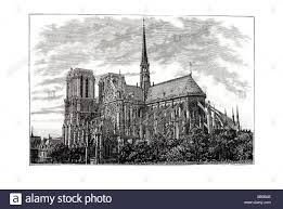 notre dame gothic cathedral flying buttress renaissance romanesque
