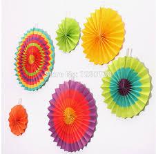 paper fans for wedding aliexpress buy 9packs paper fan decorations wedding
