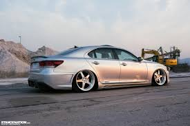 slammed lexus is350 stance nations two amazing twin slammed vip ls460s clublexus
