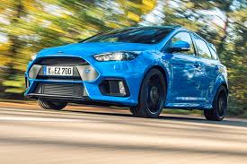 flat out in the red new 2016 ford focus rs car february 2016