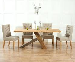 Oak Dining Table And Fabric Chairs Dining Room Chairs Fabric Visualnode Info