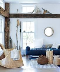 blue livingroom decorating with blue real simple