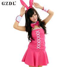 Halloween Costumes Bunny Rabbits Cheap Pink Bunny Halloween Costume Aliexpress