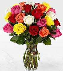 how much is a dozen roses mixed 2 dozen stem roses vase included