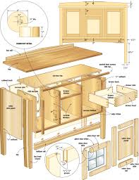 wood for woodworking projects sideboard