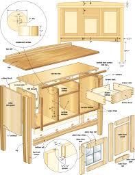 mission sideboard woodworking plans woodshop plans