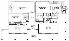 Garage House Floor Plans Baby Nursery House Plans One Story Big One Story House Floor