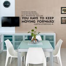 Dining Room Wall Quotes by Keep Moving Forward Wall Quote Decal