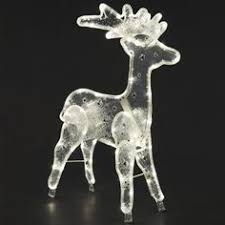 Outdoor Christmas Decorations Silhouettes by Konstsmide 3907 100 Led Foldable Santa In A Reindeer Sleigh