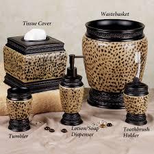 animal print bathroom sets uk kahtany leopard print bathroom set uk