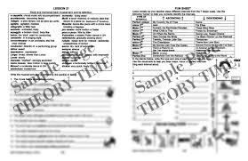 Three Blind Mice Piano Notes Theory Time Medallion Series Gold Workbook Hardcopy Workbook