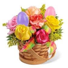 send easter baskets easter egg bouquet at send flowers