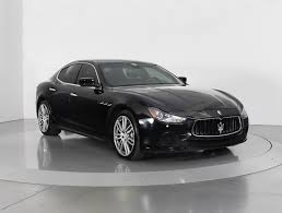 black maserati ghibli used 2014 maserati ghibli sedan for sale in west palm fl 88810