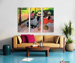 16x36 reclaimed space afternoon hour by gauguin gauguin canvas