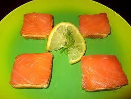 canapés saumon fumé canapés de saumon fumé