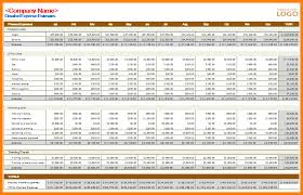 Business Expense Excel Template 7 Business Budget Excel Template Budget Template