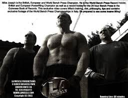 World Bench Press Record Holder Mikejosephofficial Bench Press King Mj U2013 The World S Strongest