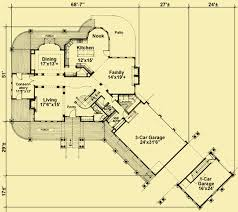 Floor Plans For Mountain Homes Luxury Plans For A Mountain Home Ringed By Covered Porches