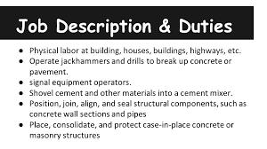 description for construction worker gse bookbinder co