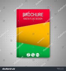 Rasta Flags Brochure Design Rasta Flag Stock Vector 343418894 Shutterstock