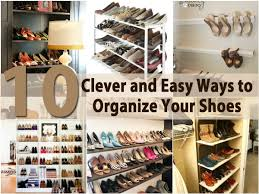 How To Decorate A Bookshelf 10 Clever And Easy Ways To Organize Your Shoes Diy U0026 Crafts