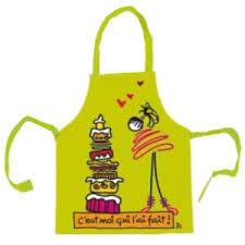 amazon cuisine enfant tablier de cuisine enfant 2 4 ans vert les kiffs pvc amazon fr