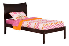Extra Long Twin Bed Sheets Atlantic Furniture Soho Extra Long Twin Sleigh Bed With Open Foot