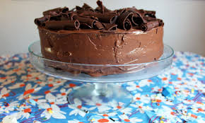 perfectly chocolate birthday cake paint the gown red