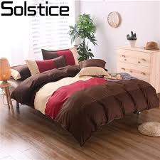 Japanese Bedding Sets Solstice Home Textile Modern Japanese Simple Fashion Stripes Style