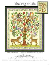joan elliott tree of cross stitch pattern 123stitch