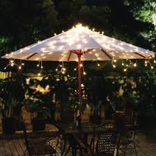 Patio Umbrella String Lights Buy Outdoor Umbrella Lights From Bed Bath Beyond