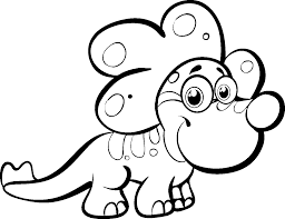 free printable dinosaur coloring pages