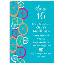 candy treat sweet 16 birthday invitations paperstyle