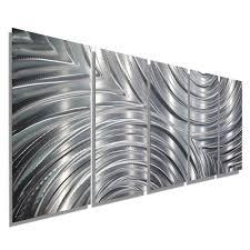 Silver Metal Headboards by Interior Marvellous Metal Wall Art 2 Metal Wall Art