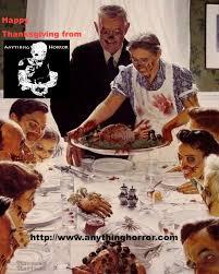 happy thanksgiving from anything horror horror horror